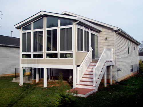 for Two story sunroom