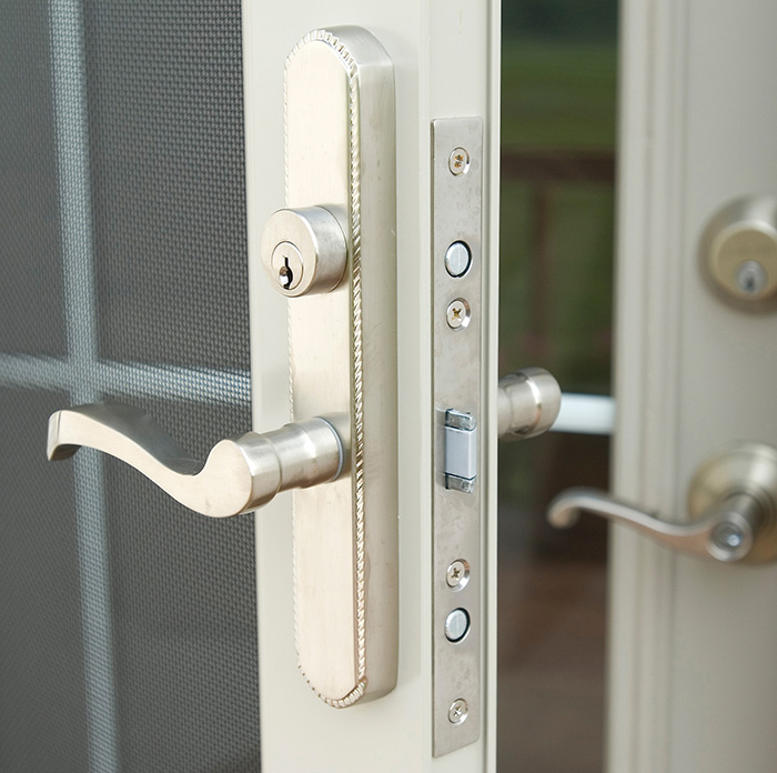 Most Secure Door Knob : Best looking security door chesapeake thermal