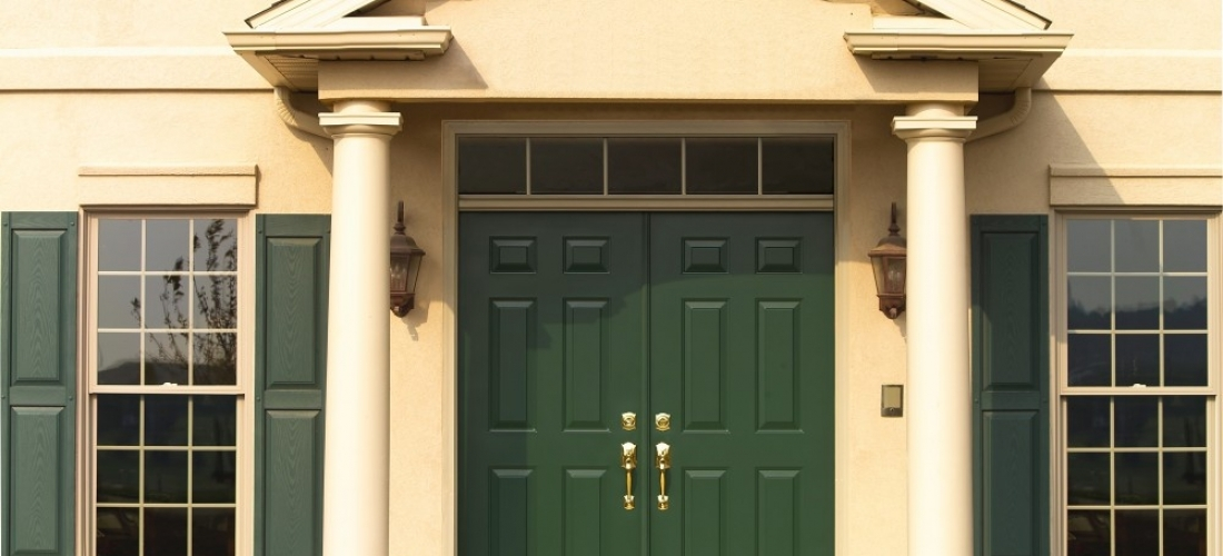 French Entry Forest Green Chesapeake Thermal