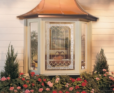 Bay Beige Decorative Glass Copper