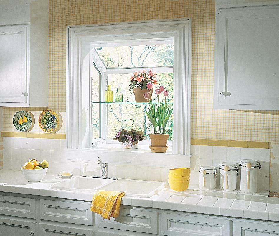 Garden Window Kitchen Inside
