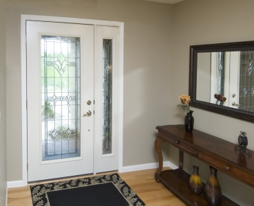 Tranquility Entry w/Sidelites