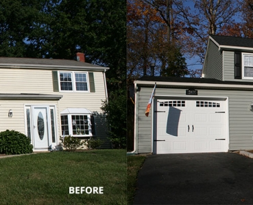 Siding Before & After 3